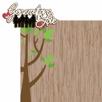Our Family: Generation of Love 2 Piece Laser Die Cut Kit