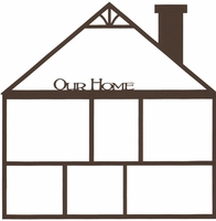 Our Home 12 x 12 Overlay Laser Die Cut
