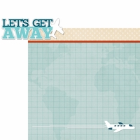 Our Journey: Let's Get Away 2 Piece Laser Die Cut Kit