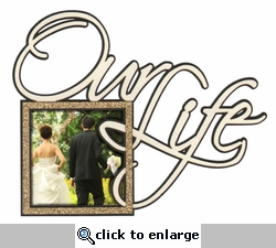 Our Life Photo Frame Laser Die Cut