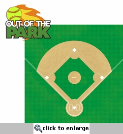 Out of the Park: Out of the Park 2 Piece Laser Die Cut Kit