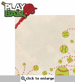 Out of the Park: Play Ball 2 Piece Laser Die Cut Kit