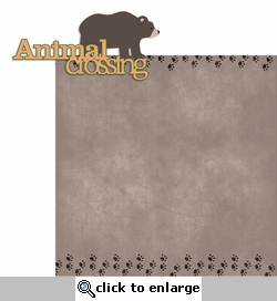 Outdoor Adventure: Animal Crossing 2 Piece Laser Die Cut Kit
