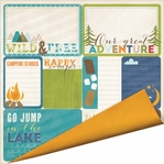 Outdoor Adventure: Campfire Stories Double-Sided Cardstock