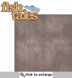 Outdoor Adventure: Fish Tales 2 Piece Laser Die Cut Kit