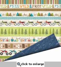 Outdoor Adventure: Trail Ride Double-Sided Cardstock