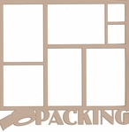 Packing 12 x 12 Overlay Quick Page Laser Die Cut