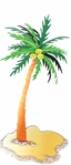 Palm Tree Jolee's Boutique Dimensional Stickers