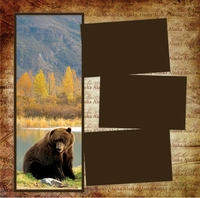 Panorama: Alaska: Bear Sighting Frame Kit