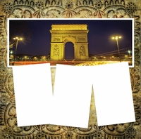 Panorama: Arc de Triomphe Frame Kit