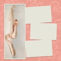 Panorama: Ballet Slippers Frame Kit