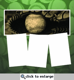 Panorama: Baseball Mitt Frame Kit