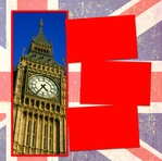 Panorama: Big Ben Flag Frame Kit