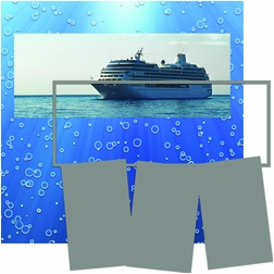 Panorama: Cruise Bubbles Frame Kit