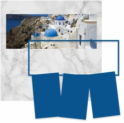 Panorama: Greece Frame Kit