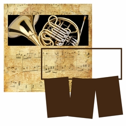 Panorama: Music: French Horn Frame Kit