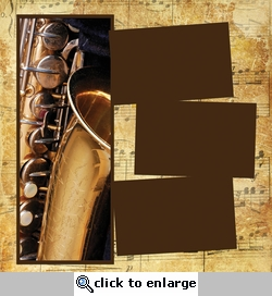 Panorama: Music: Saxophone Frame Kit