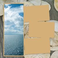 Panorama: Ocean View Frame Kit
