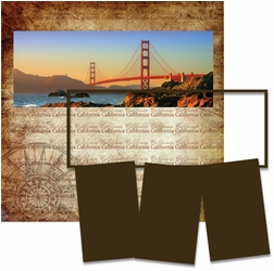 Panorama: San Fransisco Frame Kit