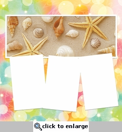 Panorama: Summer At The Shore Frame Kit