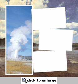 Panorama: Yellowstone Frame Kit