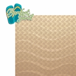 Paradise: Barefoot in the Sand 2 Piece Laser Die Cut Kit