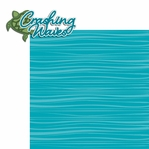 Paradise: Crashing Waves 2 Piece Laser Die Cut Kit