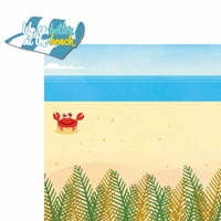 Paradise Found: Better At The Beach 2 Piece Laser Die Cut Kit