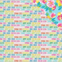 Paradise Found: Ocean Breezes 12 x 12 Double Sided Cardstock