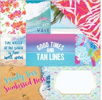 Paradise Found: Paradise Found Tags 12 x 12 Double Sided Cardstock