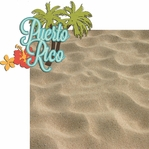 Paradise Found: Puerto Rico 2 Piece Laser Die Cut Kit