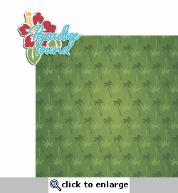 Paradise: Paradise Found 2 Piece Laser Die Cut Kit