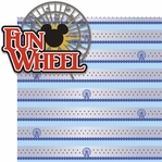<font color=#f58e8f>SYT♥</font><font color=#006666>Paradise Pier: Fun Wheel 2 Piece Laser Die Cut Kit</font>