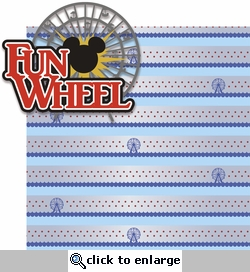<font color=#f58e8f>SYT&hearts;</font><font color=#006666>Paradise Pier: Fun Wheel 2 Piece Laser Die Cut Kit</font>