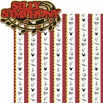 Paradise Pier: Silly Symphony 2 Piece Laser Die Cut Kit