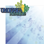 Paradise Pier: Undersea Adventure 2 Piece Laser Die Cut Kit
