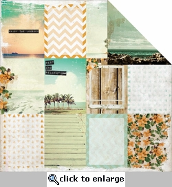 Paradiso: Getaway 12 x 12 Double-Sided Cardstock