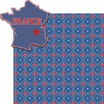 Paris Travel: France 2 Piece Laser Die Cut Kit