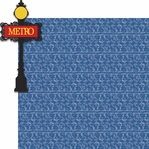 Paris Travel: Metro 2 Piece Laser Die Cut Kit