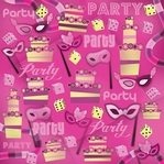 Party Party Party 12 x 12 Paper