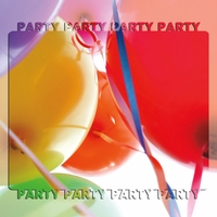 Party Party Party  3D 2 Piece Laser Die Cut Kit