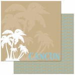 Passports: Cancun 12 x 12 Double-Sided Paper