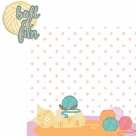Paw Pals: Cat Ball of Fun 2 Piece Laser Die Cut Kit