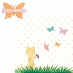 Paw Pals: Cat Fierce Hunter  2 Piece Laser Die Cut Kit