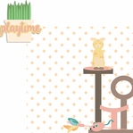 Paw Pals: Cat Playtime 2 Piece Laser Die Cut Kit