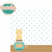 Paw Pals: Cat Sneaky 2 Piece Laser Die Cut Kit