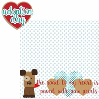 Paw Pals: Dog Adoption Day 2 Piece Laser Die Cut Kit