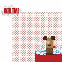 Paw Pals: Dog Bath Time 2 Piece Laser Die Cut Kit