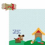 Paw Pals: Dog Treat Time 2 Piece Laser Die Cut Kit