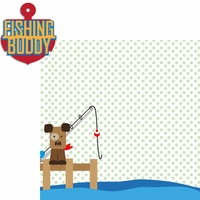 Paw Pals: Fishing Buddy 2 Piece Laser Die Cut Kit